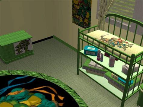 ninja themed bedroom mod the sims teenage mutant ninja turtles nursery and