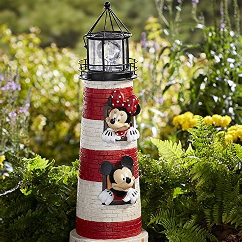 mickey mouse outdoor l post disney outdoor decor mickey and minnie mouse ligthouse