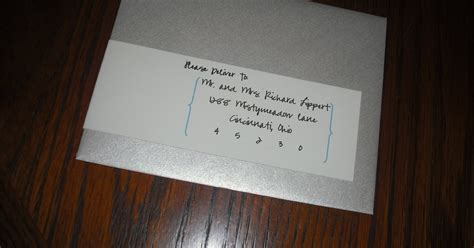 Make An Envelope From 8x11 Paper - future mrs estridge wrap around address labels diy