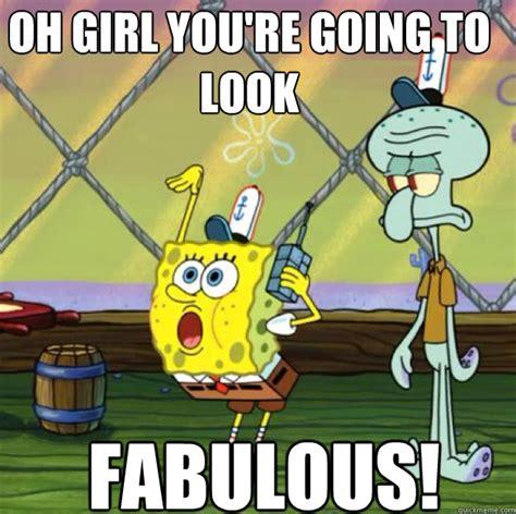 Fabulous Meme - fabulous spongebob memes quickmeme