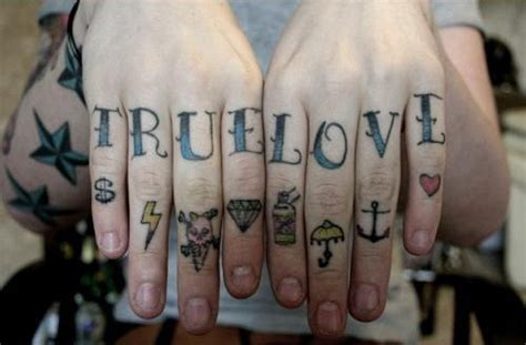 love tattoo knuckles tattoofriday finger tattoos follow the colours