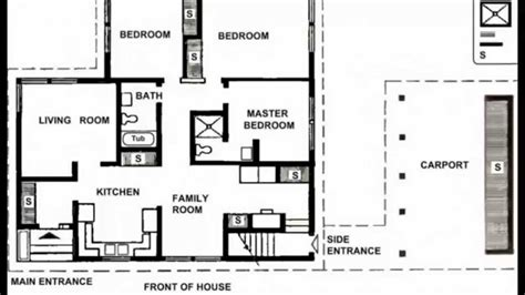 housing floor plans free small house plans small house plans modern small house