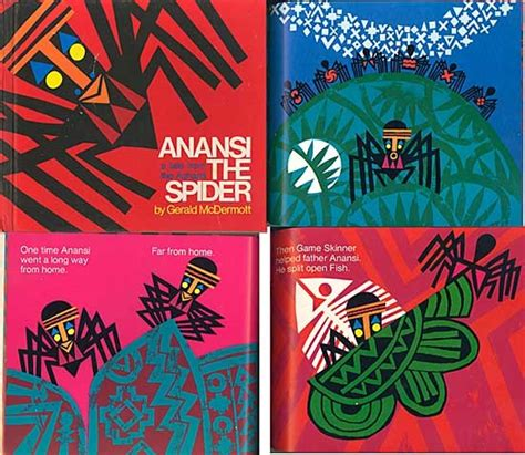 the of the spider books anansi the spider vintage child s book edition