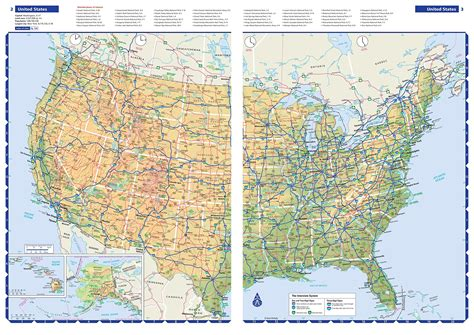 atlas map of usa states a brief guide to the interstate highway system 6 20 17