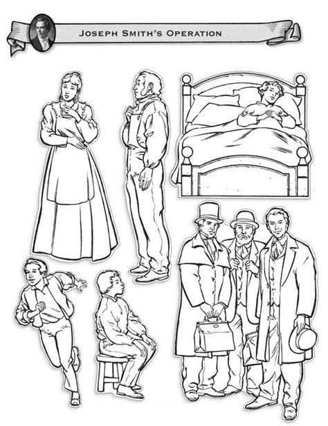 joseph smith operations coloring page coloring page of