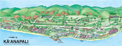 kaanapali resort map image gallery kaanapali map