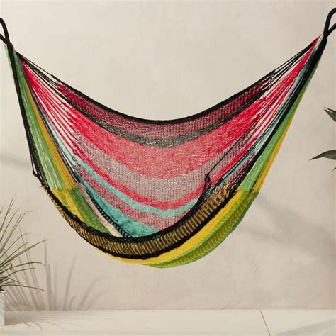 pattern for fabric hammock chair chain hanging geometric pattern swing daybed