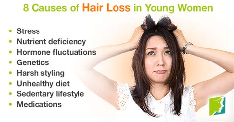 what causes hair loss in young women under 40 8 causes of hair loss in young women