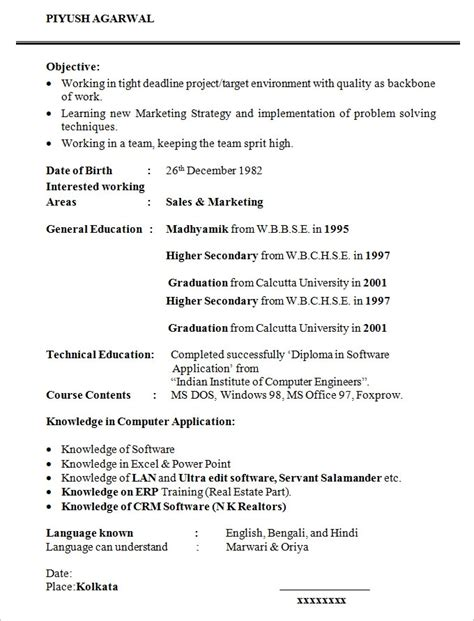 Exle Of Resume Format For Student resume templates for students health symptoms and cure