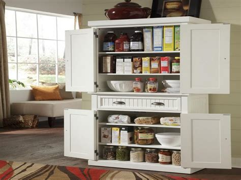 Free Standing Kitchen Pantry Furniture Arrangement Stand Alone Pantry Closet Roselawnlutheran