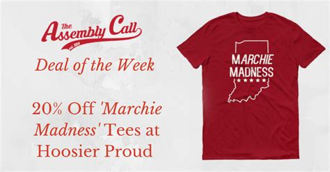 Deal Of The Week 20 At Baker by Deal Of The Week 20 Marchie Madness Tees By
