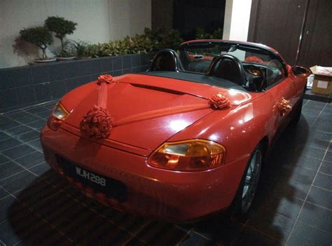 Porsche Wedding Car Rental Malaysia   Self Driven Bridal Car