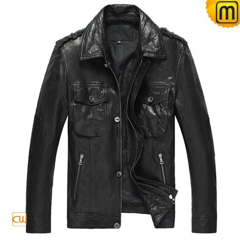 leather bomber jacket fitted leather bomber jacket for cw850105