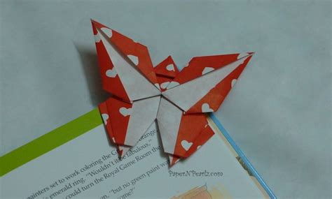 Butterfly Bookmark Origami - diy origami butterfly corner bookmark driverlayer search