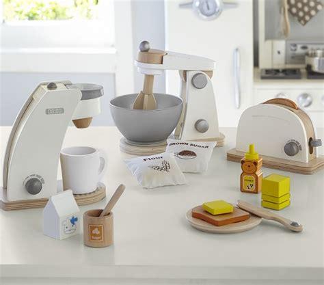 kids kitchen appliances wooden appliances pottery barn kids
