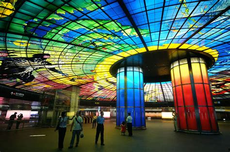 Beautiful Subway Stations by 20 Most Beautiful Underground Subway Stations Around The
