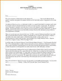 sample insurance appeal letter for no authorization best