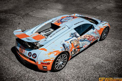 gulf car bugatti veyron art car video bmw art cars