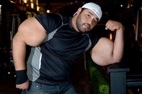 worlds biggest biceps world s biggest biceps shocking world