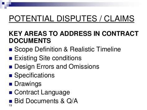design and build contract disputes claims and counterclaims preparation analysis assessment