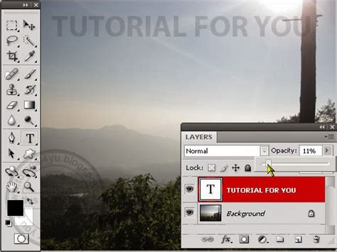 tutorial membuat gambar transparan di photoshop cara membuat tulisan transparan di photoshop