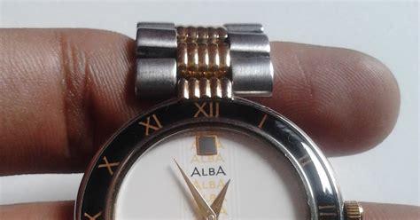 Harga Jam Tangan Japan Quartz jam tangan jadul vintage alba plat putih quartz jam