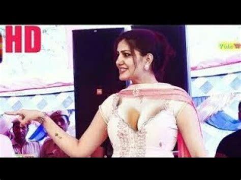 sapna choudhary youtube video sapna choudhary hot sexy dance 2018 hd youtube