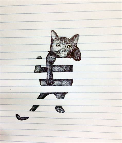 doodle cat drawings creative doodles that don t stay within the lines bored