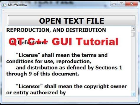 qt c gui tutorial 24 how to use qfiledialog youtube qt c gui tutorial 26 creating digital clock by using