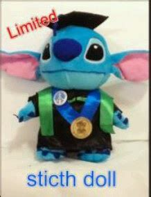 Boneka Wisuda Stitch By Keyniegift boneka wisuda murah boneka wisuda stitch