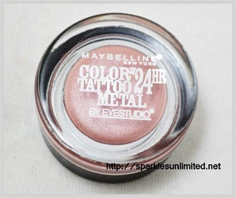 maybelline color tattoo online india sparkles unlimited maybelline color tattoo metal 24hr
