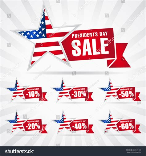 z gallerie presidents day sale presidents day sale discount labels vector stock vector 552849439 shutterstock