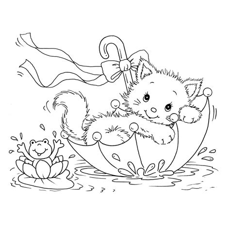 Galerry coloring pages cats