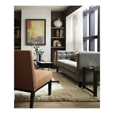 crate and barrel living room light walls crate and barrel and neutral couch on pinterest