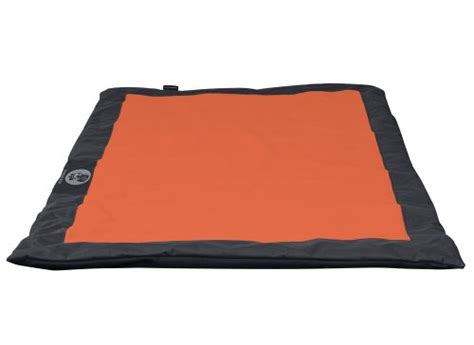 Mats Dublin by Dublin 36 Inch By 51 Inch Nomad Pad Travel Mat For Pets Large Tangerine And Charcoal