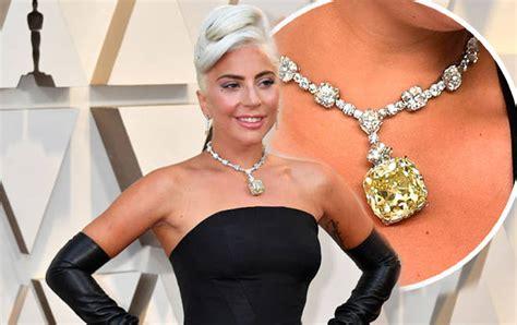 lady gaga oscars necklace shallow singers  million