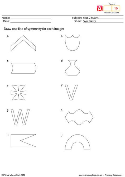 Lines Of Symmetry Worksheets by Symmetry Worksheets New Calendar Template Site