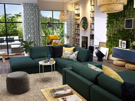 ikea living room sofa image result for ikea vimle sofa green living room