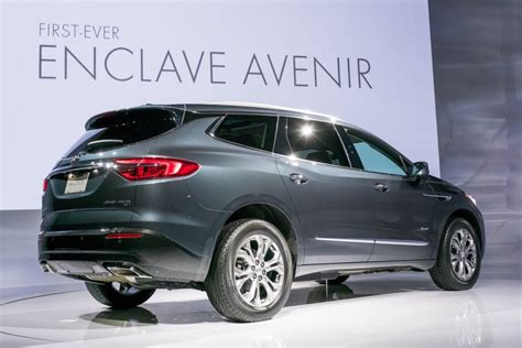 2018 buick enclave lineup and models gm authority