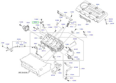 kia sorento engine diagram sensors wiring diagram for free