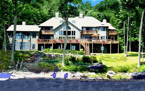 pocono house rentals magnificent direct waterfront in pocono mtns vrbo