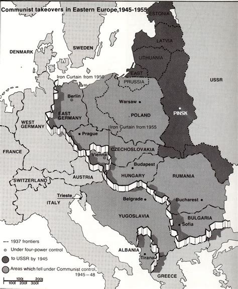 how to get the iron curtain map depicting quot communist takeovers in eastern europe 1945