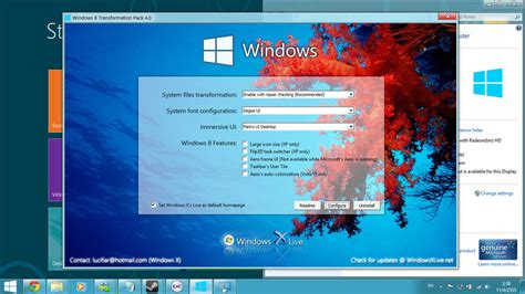 windows live theme for xp full install velwahrgilcmis s download windows 7 to windows 8 transformation pack 8