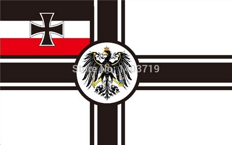 Imperial Home Decor Group German Empire Flag 3 X 5 Ft Polyester War Flag From 1892
