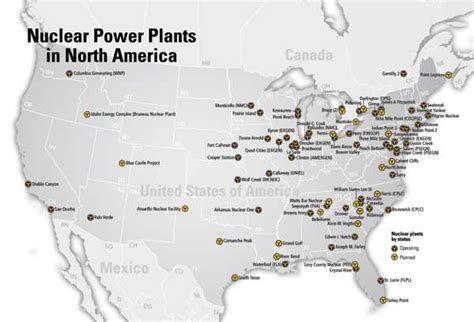 nuclear power plants in usa map nuclear power plants us map cdoovision