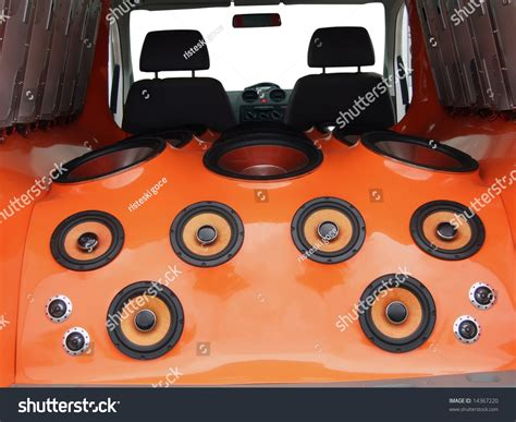 car audio system stock photo 14367220