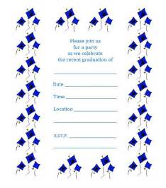 free printable graduation invite flying caps