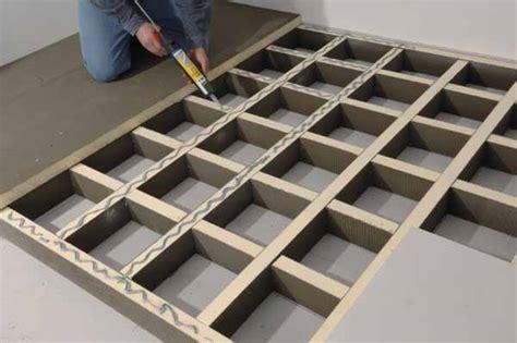 podest wohnzimmer podest aus leichtbauplatten