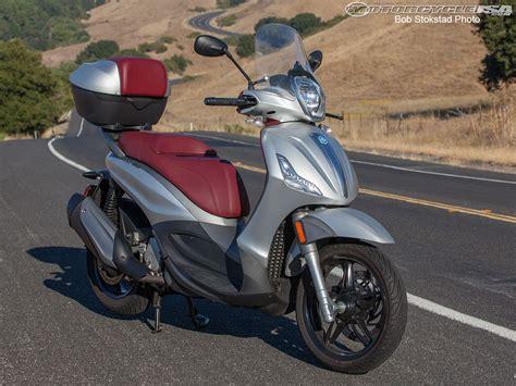 2013 piaggio bv 350 review photos motorcycle usa