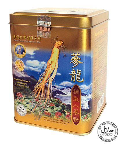 Shen Ginseng Powder suplemen murah asli shen serbuk ginseng powder